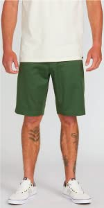 men chino short khaki knee high lightweight durable recycled fabric