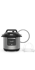 Ninja, Instant Cooker, PC101, Pressure Cook, Steam, Slow Cook, Sear, Saute, Instant Pot