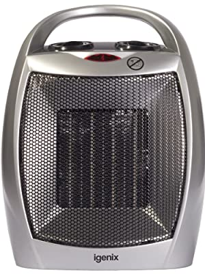Igenix 1.8kW Ceramic Fan Heater with 2
