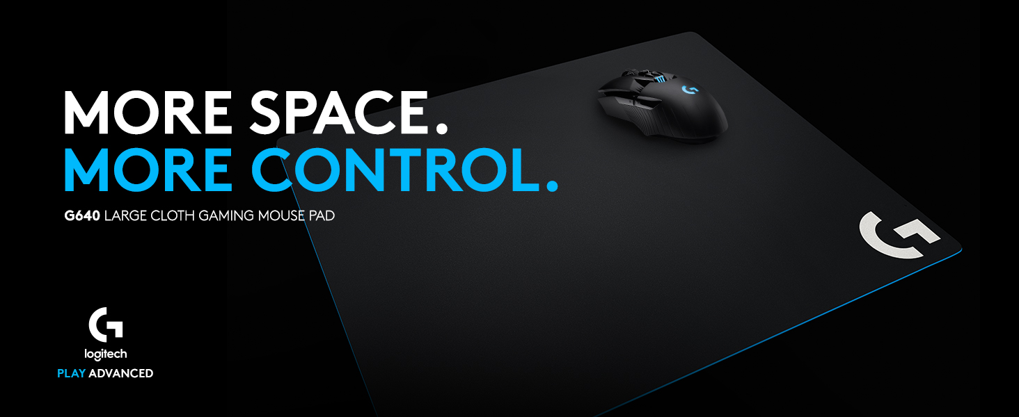 Logitech G640 Gaming Mouse Pad for Gaming Mouse black