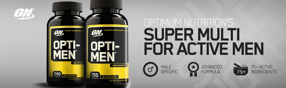 multi vitamins opti men