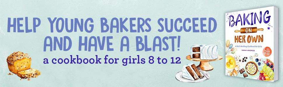 girls cookbook, baking cookbooks, kids baking cookbook, kids cookbook, books for 11 year old girls