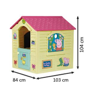 Peppa Pig- Casita (Chicos 89503)