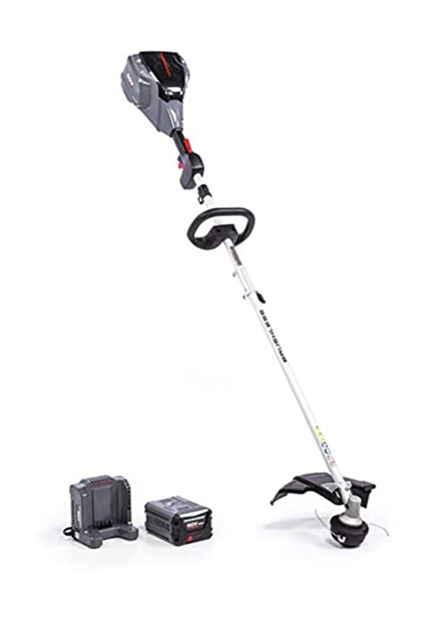 powerworks cordless electric weed wacker string trimmer