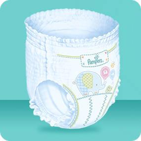 Pampers baby dry pants couches culottes taille 4 8 15 kg jumbo pack x72 culottes - Couches culottes pampers ...