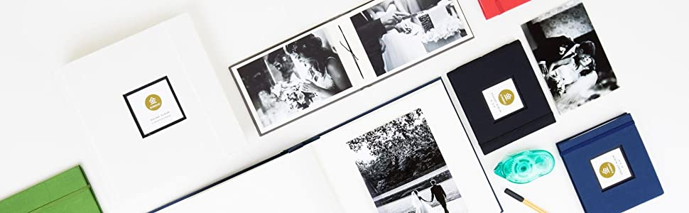 Kinsho Bound Albums Stone 8.5 x 9