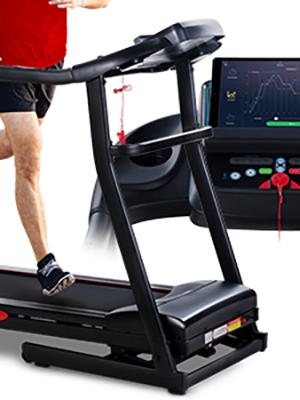 Sportstech F26 Cinta de Caminar con Control de Smartphone App + Pulsera Especial