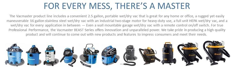 vacmaster, shop vac, shopvac, vacuum, wet dry, vac garage vacuum, professional vacuum, beast vac
