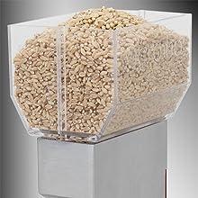 deluxe grain mill hopper large capacity vkp1024