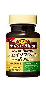 大塚製薬 ネイチャーメイド 大豆イソフラボン 60粒