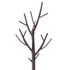 Kings Brand Bronze - Finish Metal Hall Tree Coat & Hat Rack with Branches