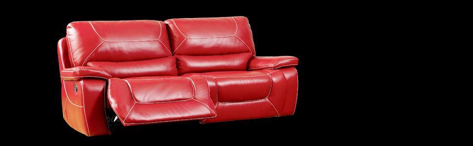 Phenomenal Furniture Of America Dunham 2 Recliner Sofa Red Squirreltailoven Fun Painted Chair Ideas Images Squirreltailovenorg