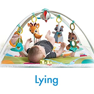 Baby activity gym, baby gym, tummy time, play mat