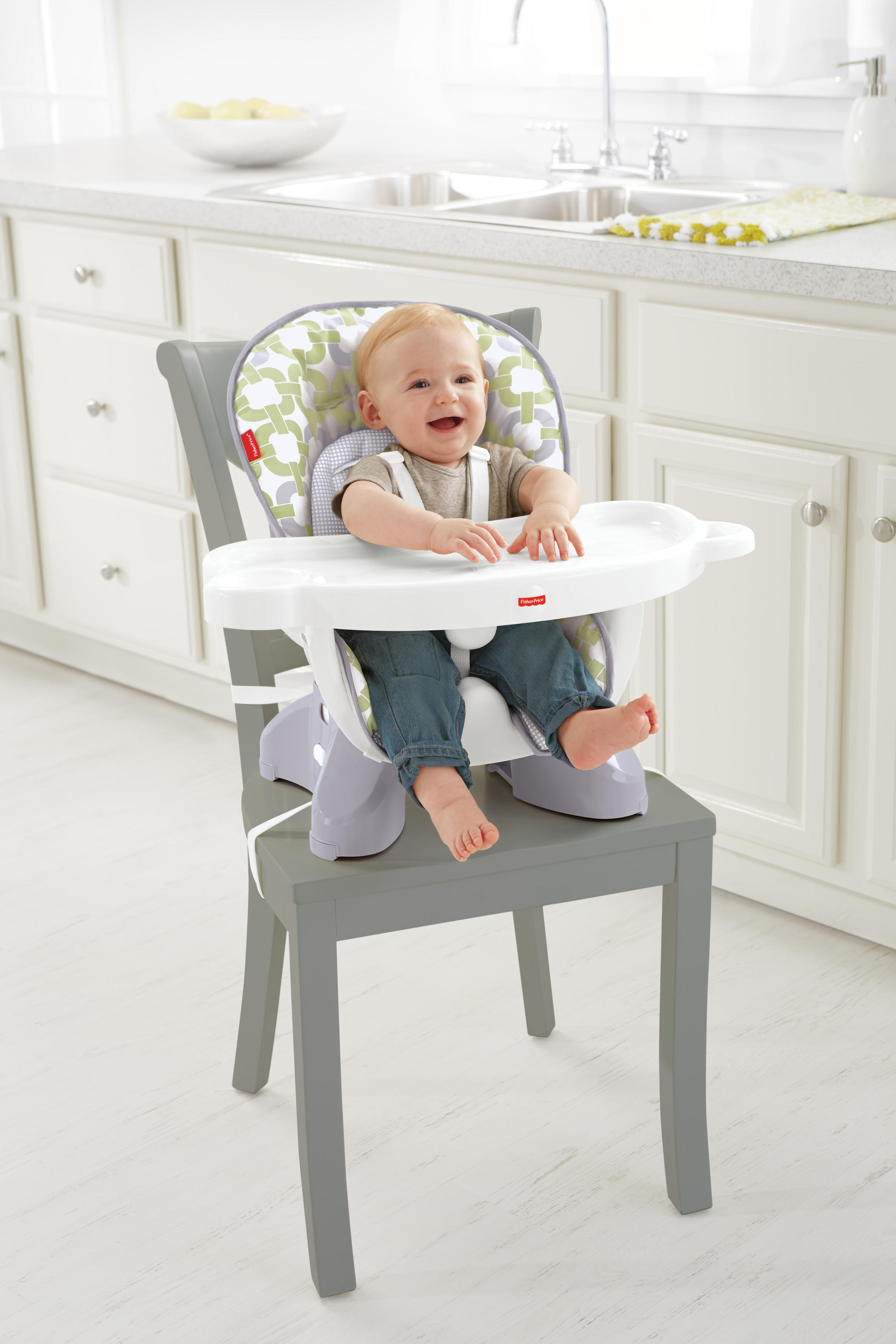 Fisher price space saver high chair baby - High chair for small spaces image ...