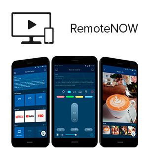 RemoteNow APP telecomando touchpad tastiera
