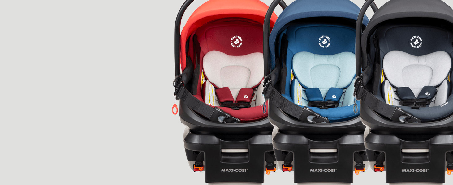 modular nesting system maxi cosi coral XP infant car seat lightweight baby carrier combo 4 modes