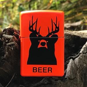 fishin lighter, outdoor lighters, zippo outdoor lighters, zippo lighters, bear lighter, beer lighter