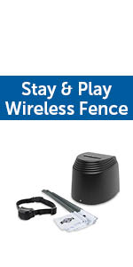 petsafe stay & play wireless fence containment system