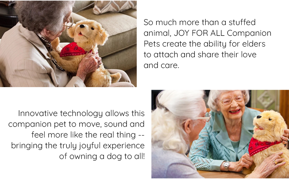 Joy for All Companion Pet Golden Pup Alzheimer's Endorsed New in Box