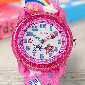 Timex, time machines, kids