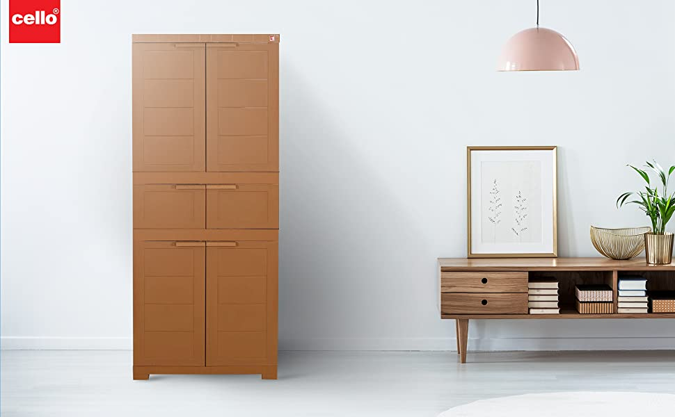 novelty, cello, cupboard, plastic, termite proof, large, triplex