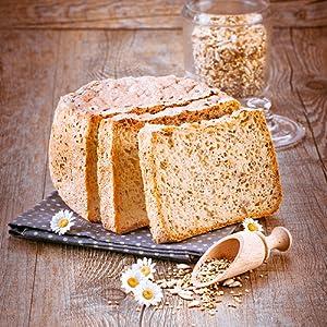 Receta Pan salado de semillas (sin gluten) - Programa 1