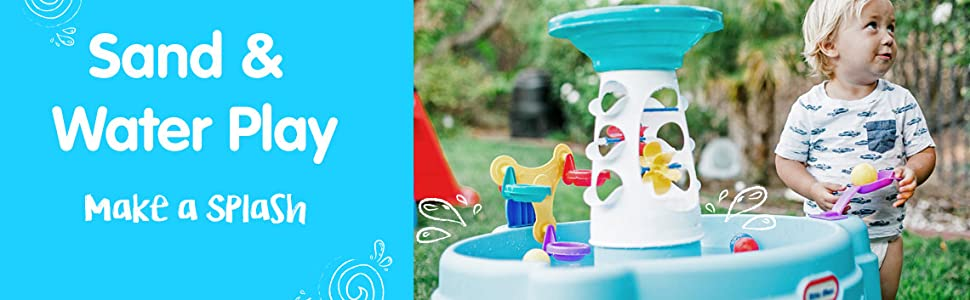 little tikes sand and water tables;water play for kids;fisher price water table;kids toys