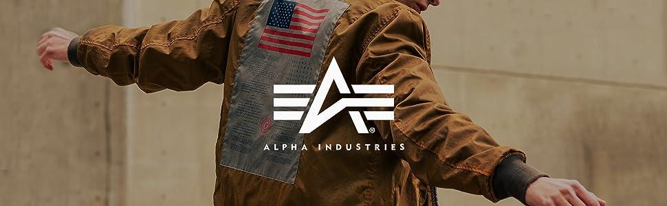 4087f43c4 Alpha Industries Men's M-‐65 Defender Field Coat