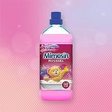 mimosin, suavizante, suavizante concentrado, suavizante moussel
