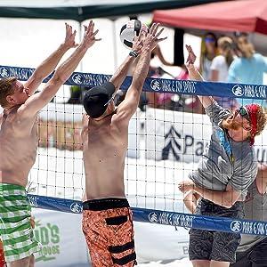 beach, sand, mens, volleyball, net, blue, professional, regulation