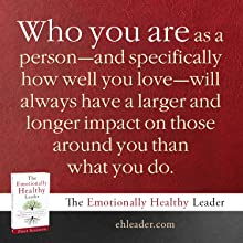Who you are as a person will always have a larger and longer impact on those around you