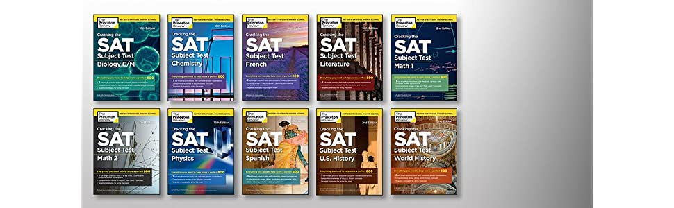 Amazon.com: Cracking the SAT Subject Test in Biology E/M