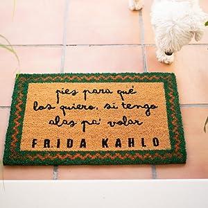 ERIK - Felpudo entrada casa Frida Kahlo (40 x 60 cm): Amazon.es ...