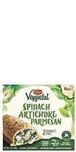 Veggieful Spinach Artichoke