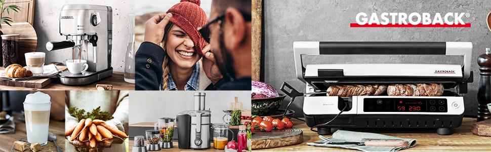 Gastroback, Gastroback Duitsland, modern, huishouden, keukenapparaten, stijl
