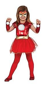 Girls Iron Man Costume