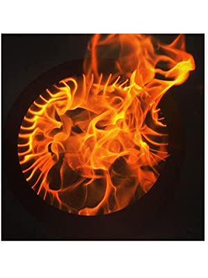 Amazon Com Hy C Flame Genie Fg 16 Wood Pellet Fire Pit