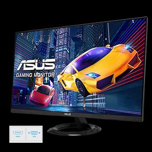 Asus Vz249heg1r 60 45cm Gaming Monitor Schwarz Computer Zubehör