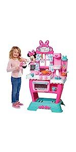 kids house play, kids kitchen set, play food, housekeeping playset, pretend food, minnie mouse