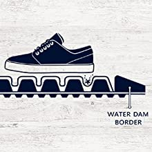 moisture control, safe floors, clean floors, comfortable floors, water dam border mats, waterhog