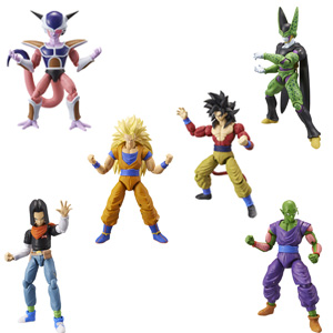 dragon ball, figuras, figuras deluxe, coleccionismo, dragon stars, goku, vegeta, freezer, cell