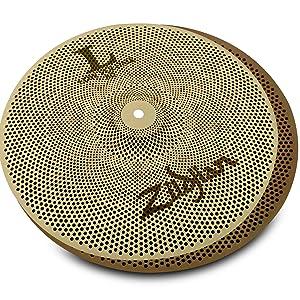 Zildjian, L80, low volume, 13, hihat, hi hat, cymbal, percussion, professional, quiet, practice
