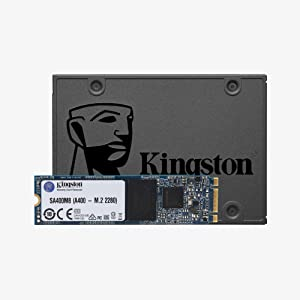 Kingston A400 SSD SA400S37/480G - Disco duro sólido interno 2.5 ...