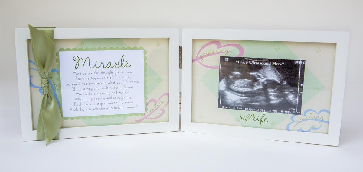 Amazon.com: The Grandparent Gift Co. Miracle Ultrasound Frame: Baby