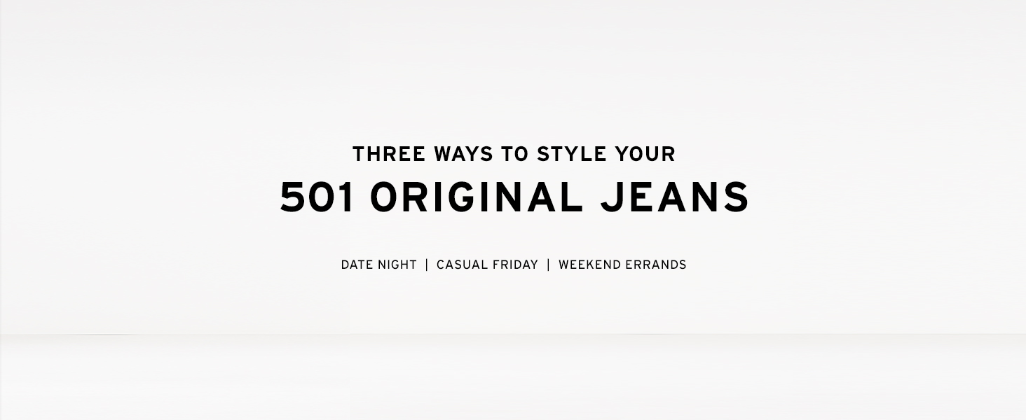 How to Style Your 501 Jeans