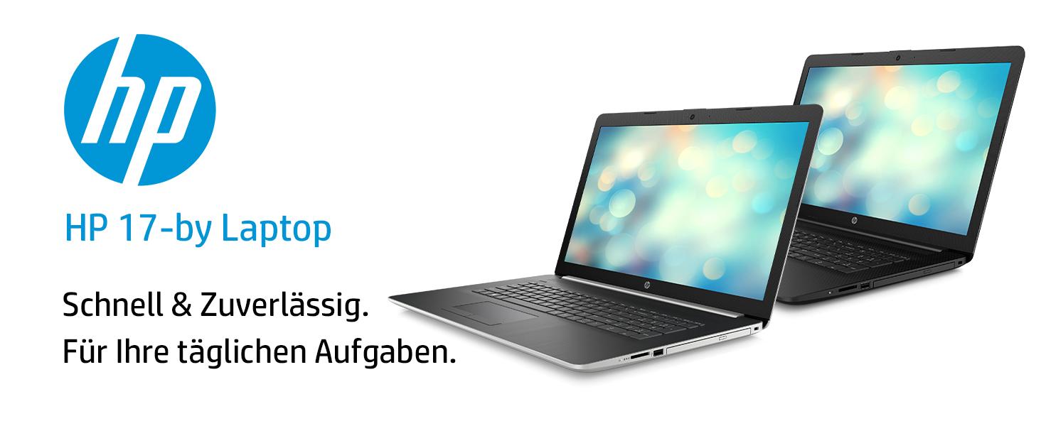 HP 17-by0205ng Laptop schwarz: Amazon.de: Computer & Zubehör
