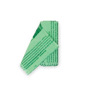 Brabantia 419683 Bolsas de Basura 6 litros, Verde, Bio, 6 L