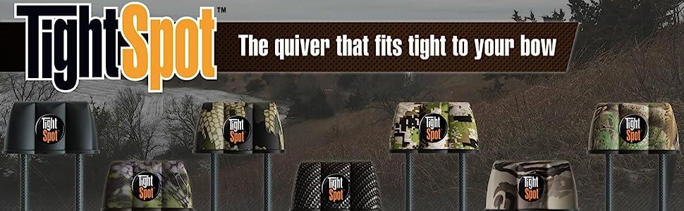 tightspot arrow quivers TSQ3BLK TSQ5BLK TSQ5CAR TSQ5LSTXD TSQ5RE TSQ5RED TSQ7BLK TSQ7LSTXD logo