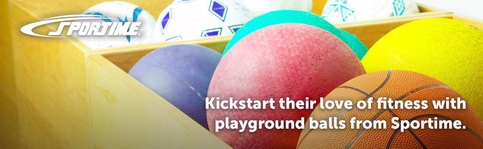 Kickstart their love of fitness with playground balls from Sportime.