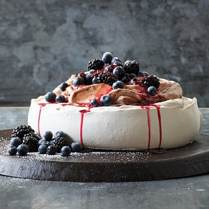 blueberry cheesecake pastry